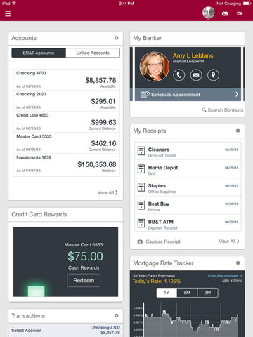 BB&T customer dashboard | Shopify Retail blog