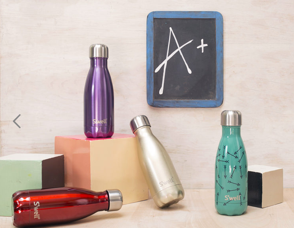 S'well water bottles, back to school | Shopify Retail blog