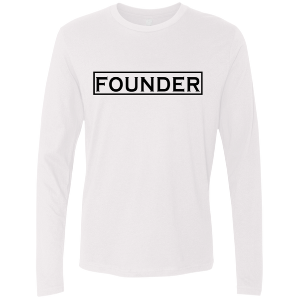 Founder Men's Long Sleeve Tee