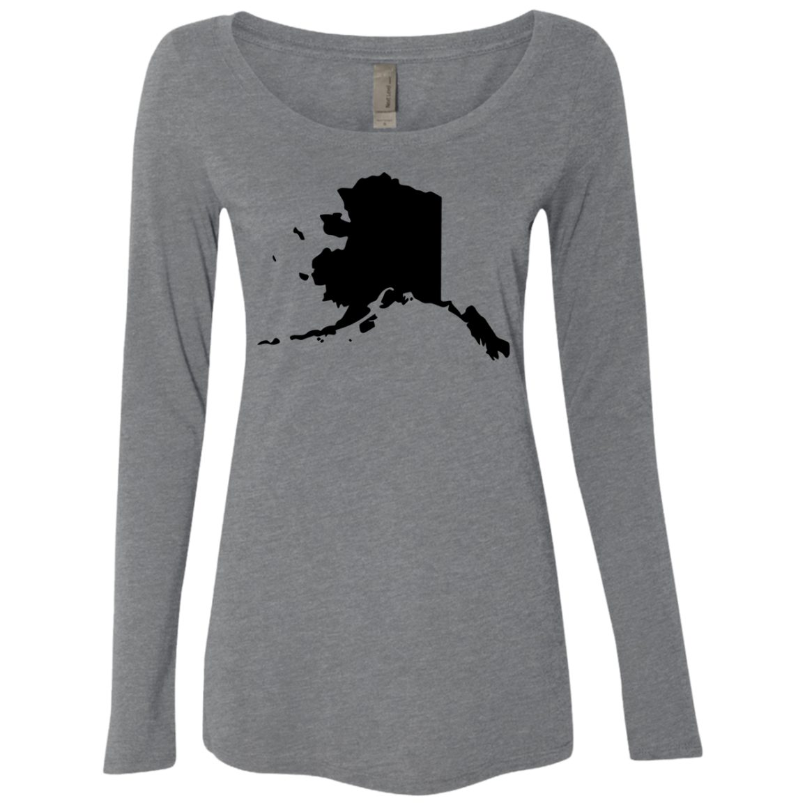 Alaska Black Women's Long Sleeve Tee