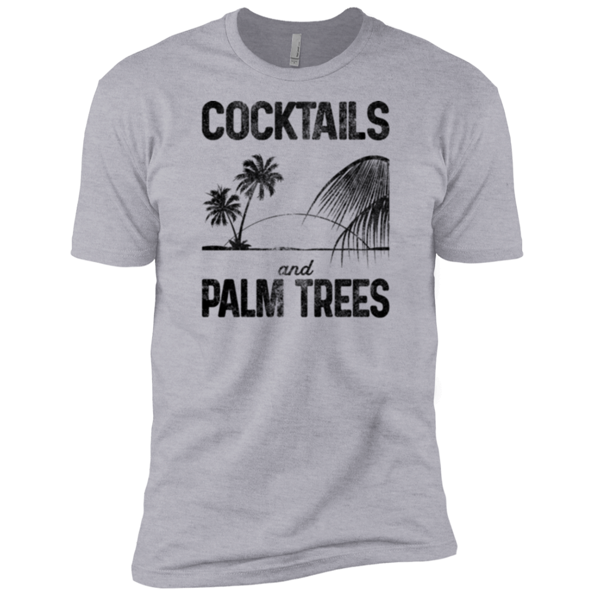 Cocktails and Palm Trees Men's Classic Tee