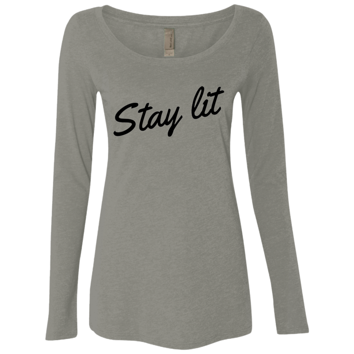 Stay Lit Women's Long Sleeve Tee