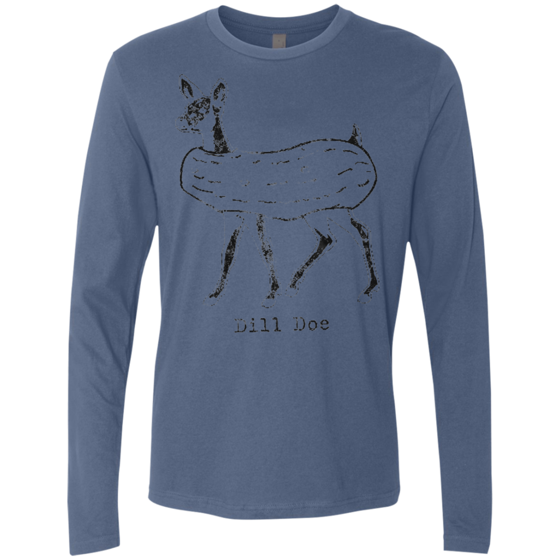 Dill Pickle Doe Men's Long Sleeve Tee
