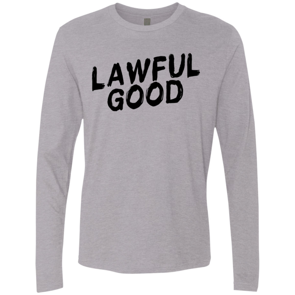 Lawful Good Men's Long Sleeve Tee