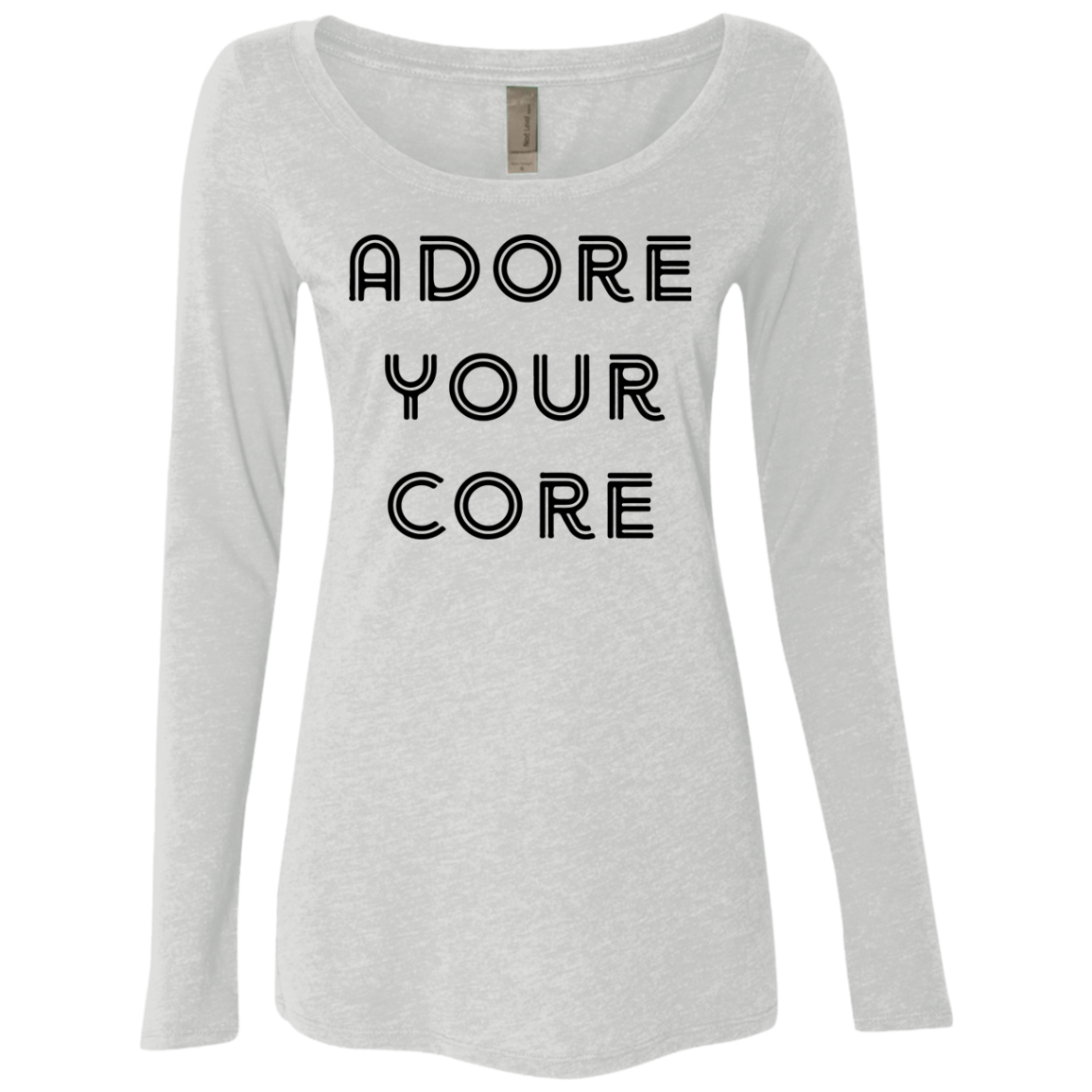 Adore your Core Women's Long Sleeve Tee