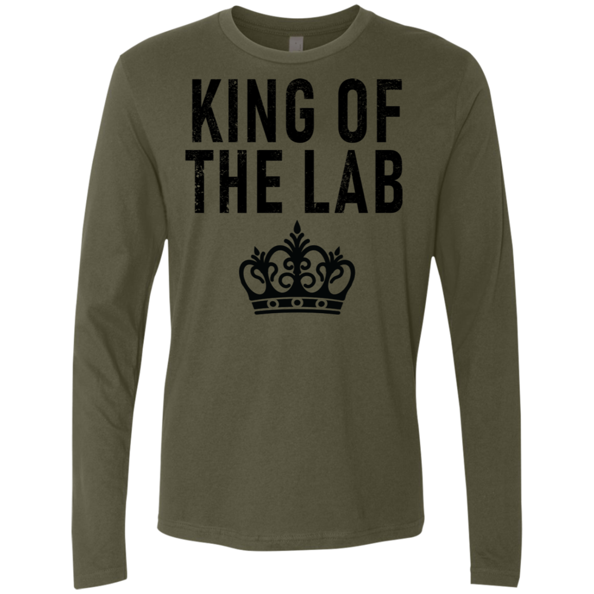 King Of The Lab Men's Long Sleeve Tee