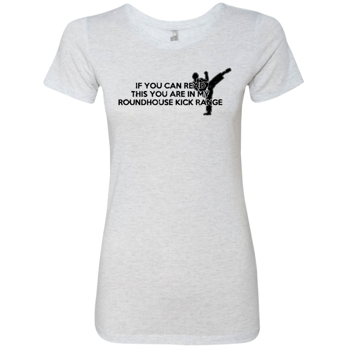If You Can Read This You Are In My Roundhouse Kick Range Women's Classic Tee