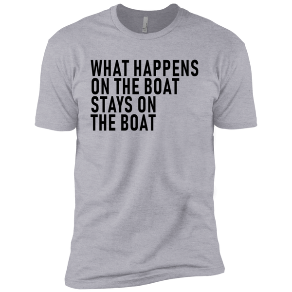 What Happens On The Boat Stays On The Boat Men's Classic Tee