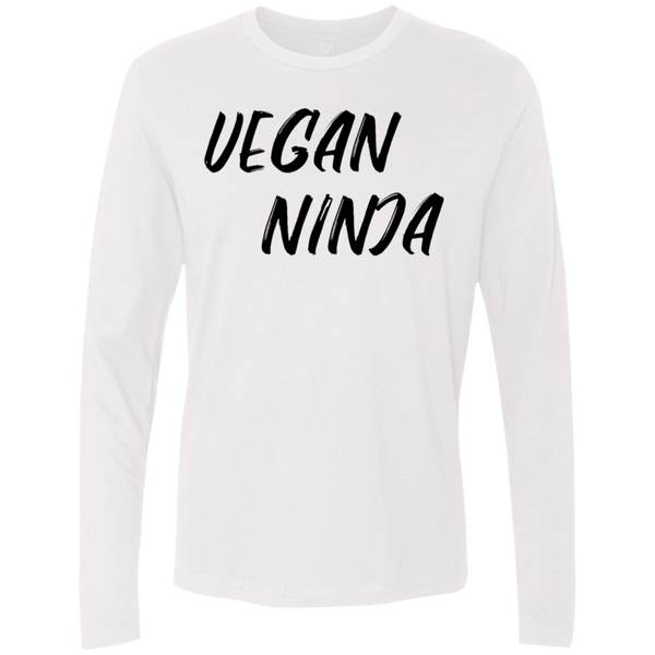 Vegan Ninja Men's Long Sleeve Tee