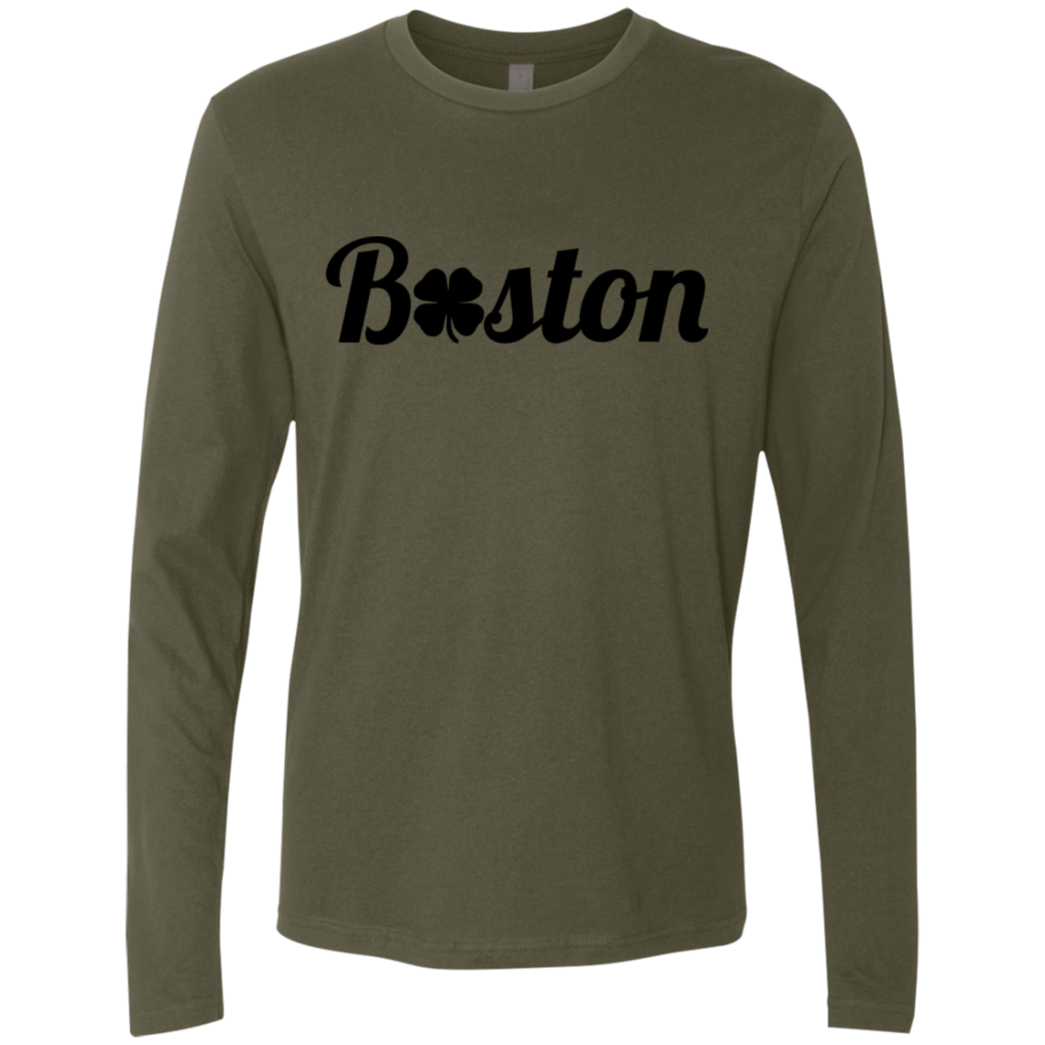 Boston Celtics Men's Long Sleeve Tee - Trendy Tees