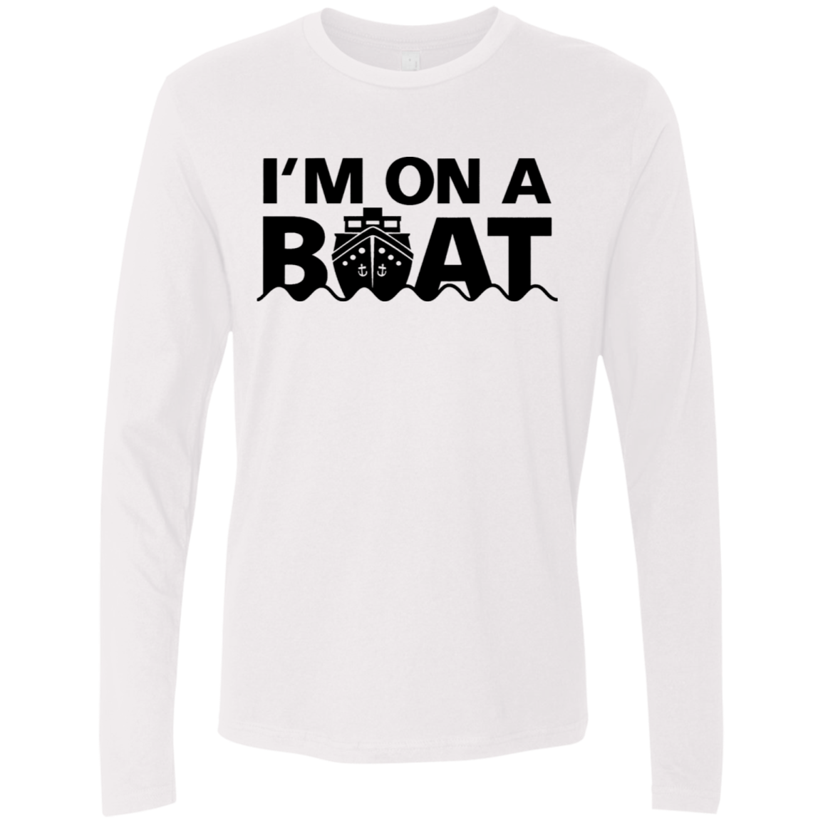 I'm On A Boat copy Men's Long Sleeve Tee