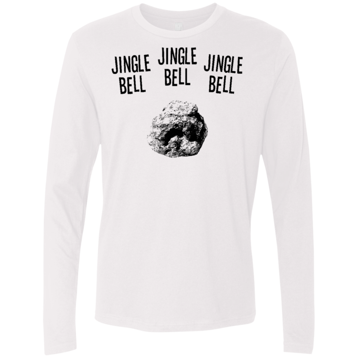 Jingle Bell Jingle Bell Jingle Bell Men's Long Sleeve Tee