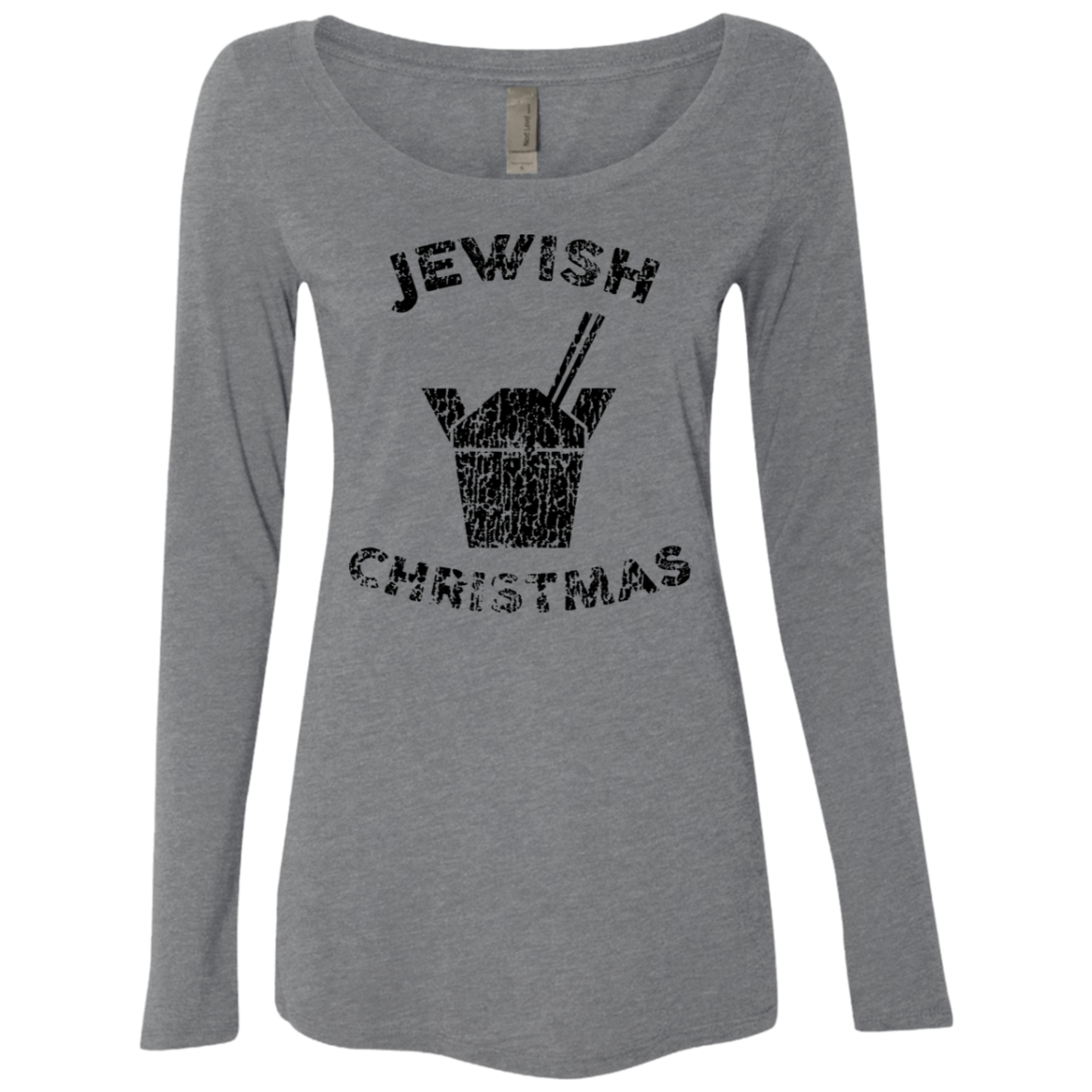 Jewish Christmas Women's Long Sleeve Tee