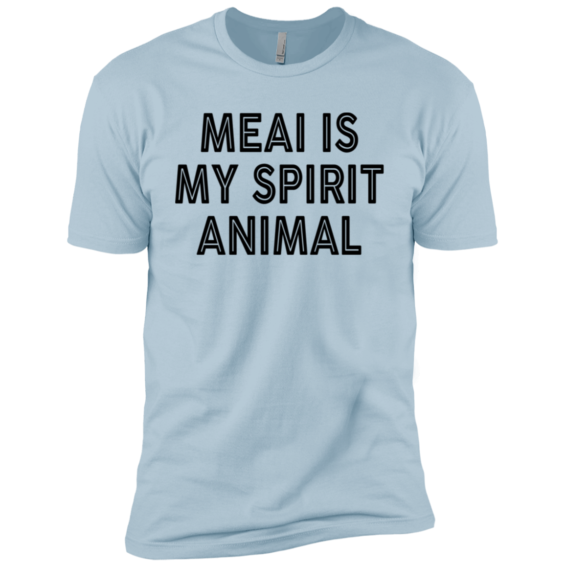 Meai Is My Spirit Animal Men's Classic Tee