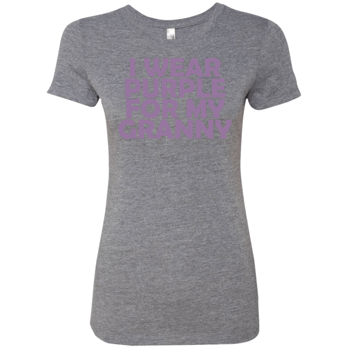 I Wear Purple For My Granny Women's Classic Tee