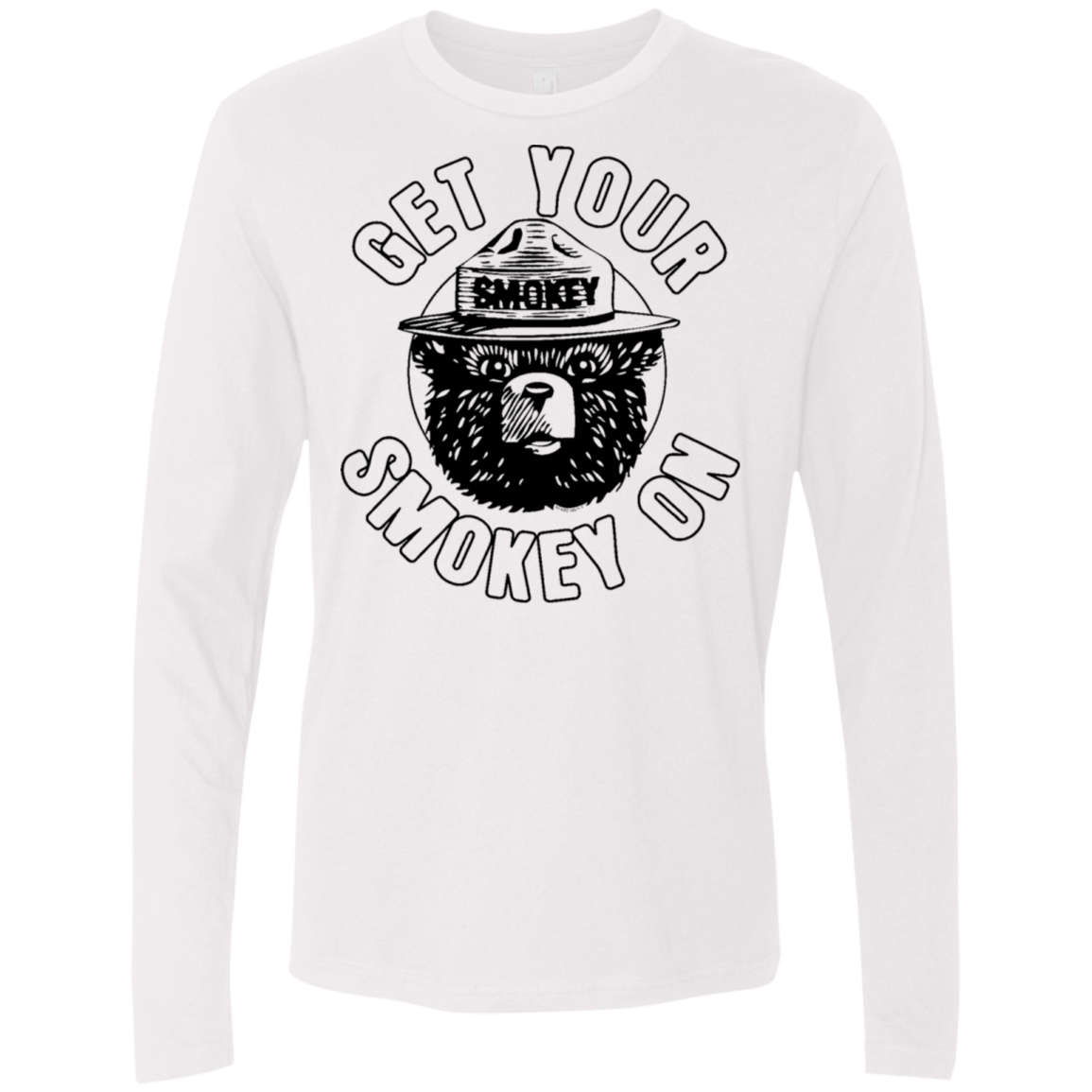 Get Your Smokey On Men's Long Sleeve Tee
