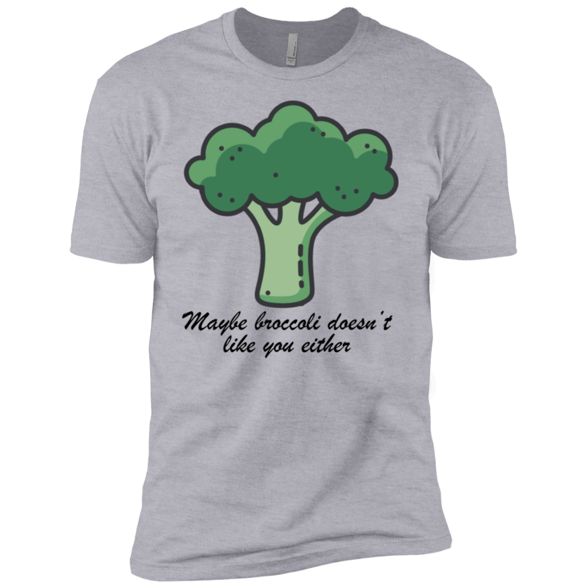 Maybe Broccoli Doesn't Like You Either Men's Classic Tee