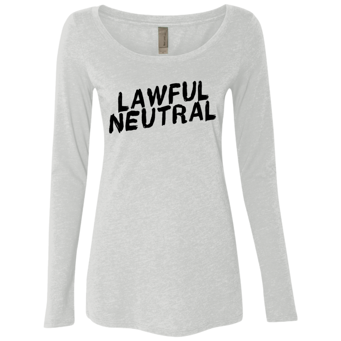 Lawful Neutral Women's Long Sleeve Tee