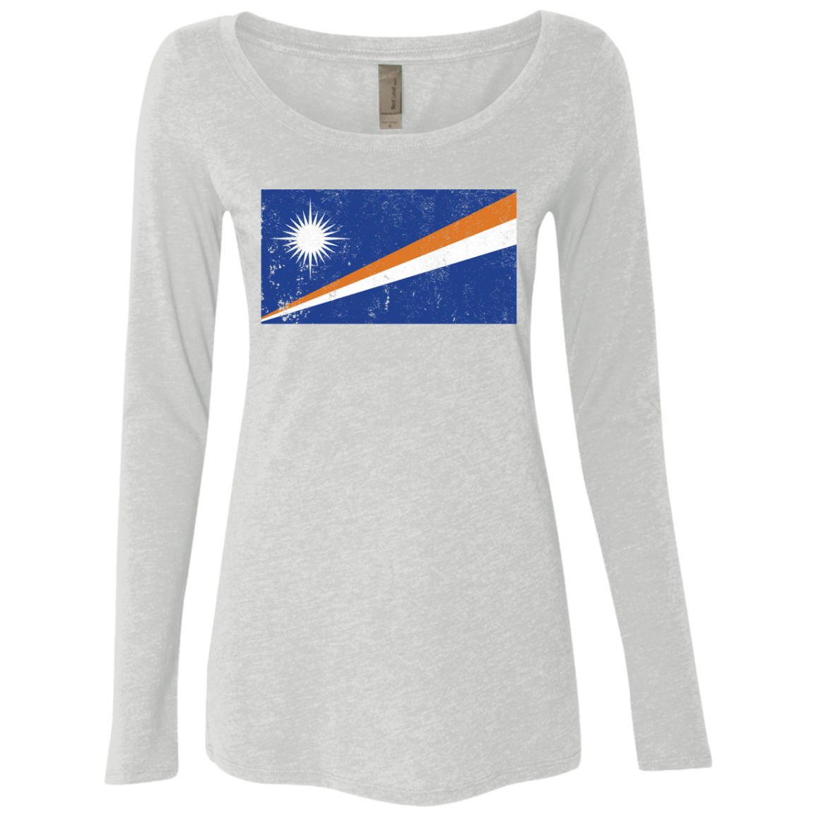 Marshall Islands Women's Long Sleeve Tee