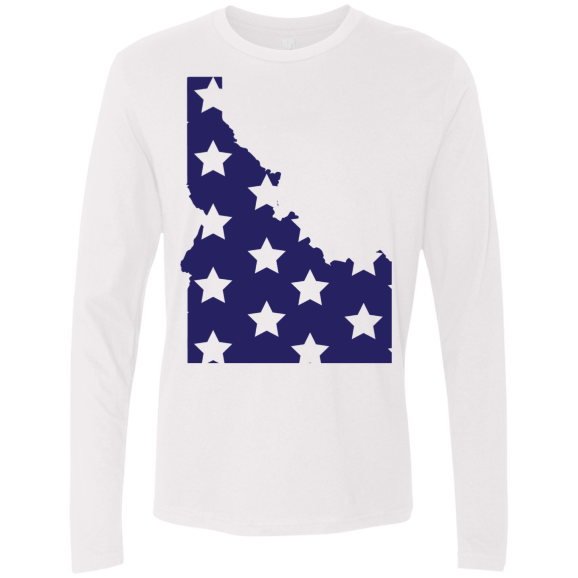 Idaho Stars Men's Long Sleeve Tee