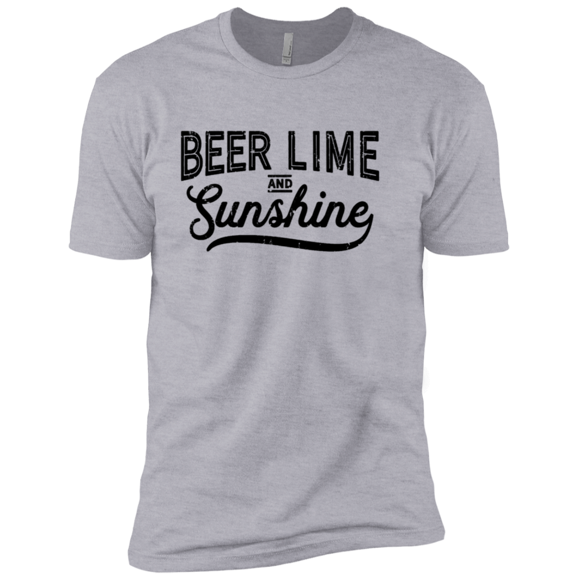 Beer Lime and Sunshine Men's Classic Tee