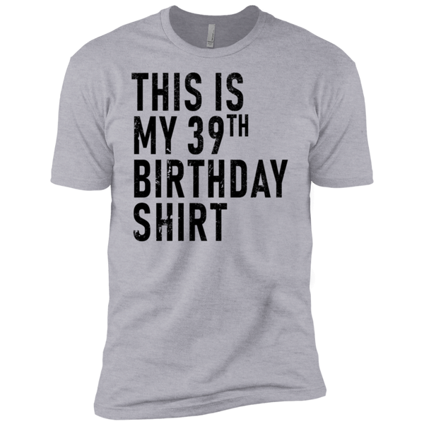 This Is My 39th Birthday Shirt Men's Classic Tee