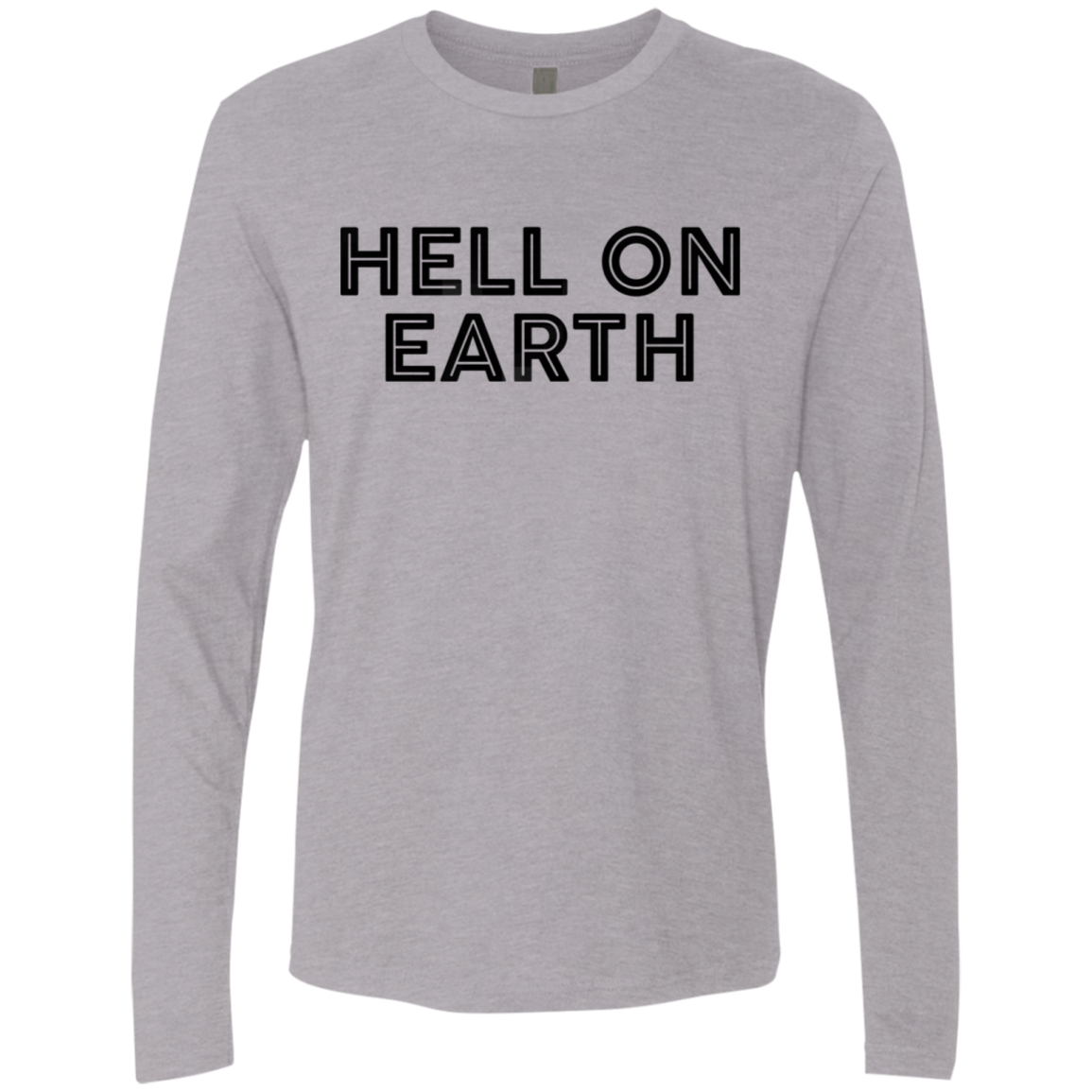 Hell On Earth Men's Long Sleeve Tee