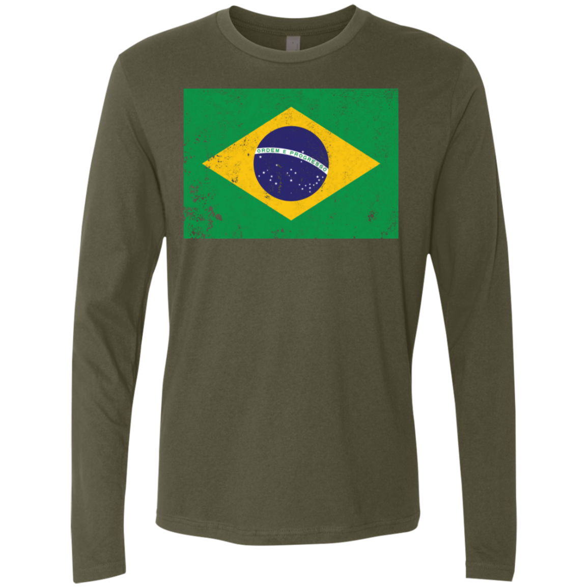 Brazil Men's Long Sleeve Tee