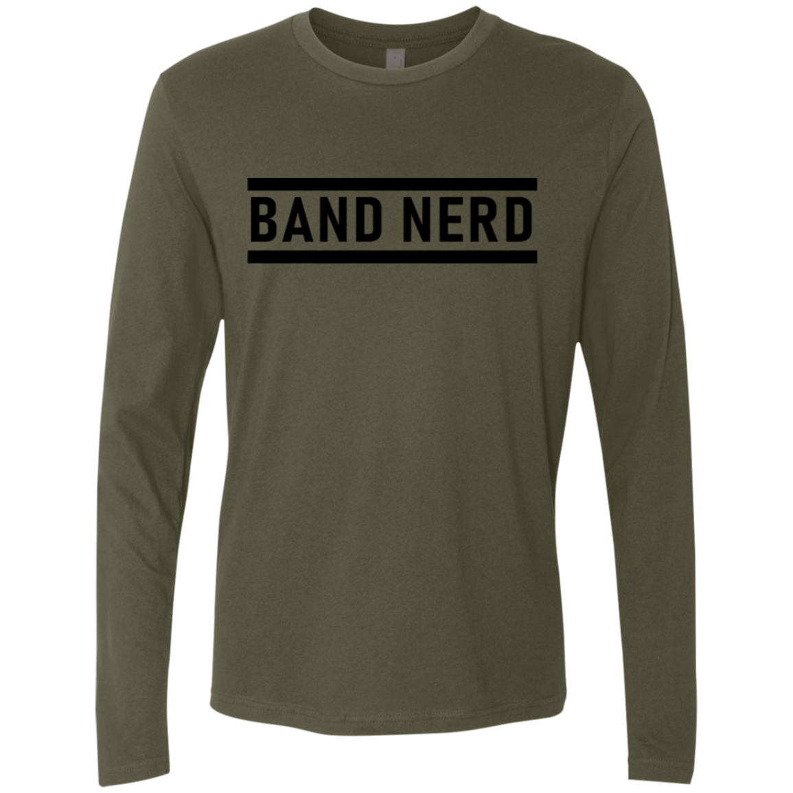 Band Nerd Men's Long Sleeve Tee