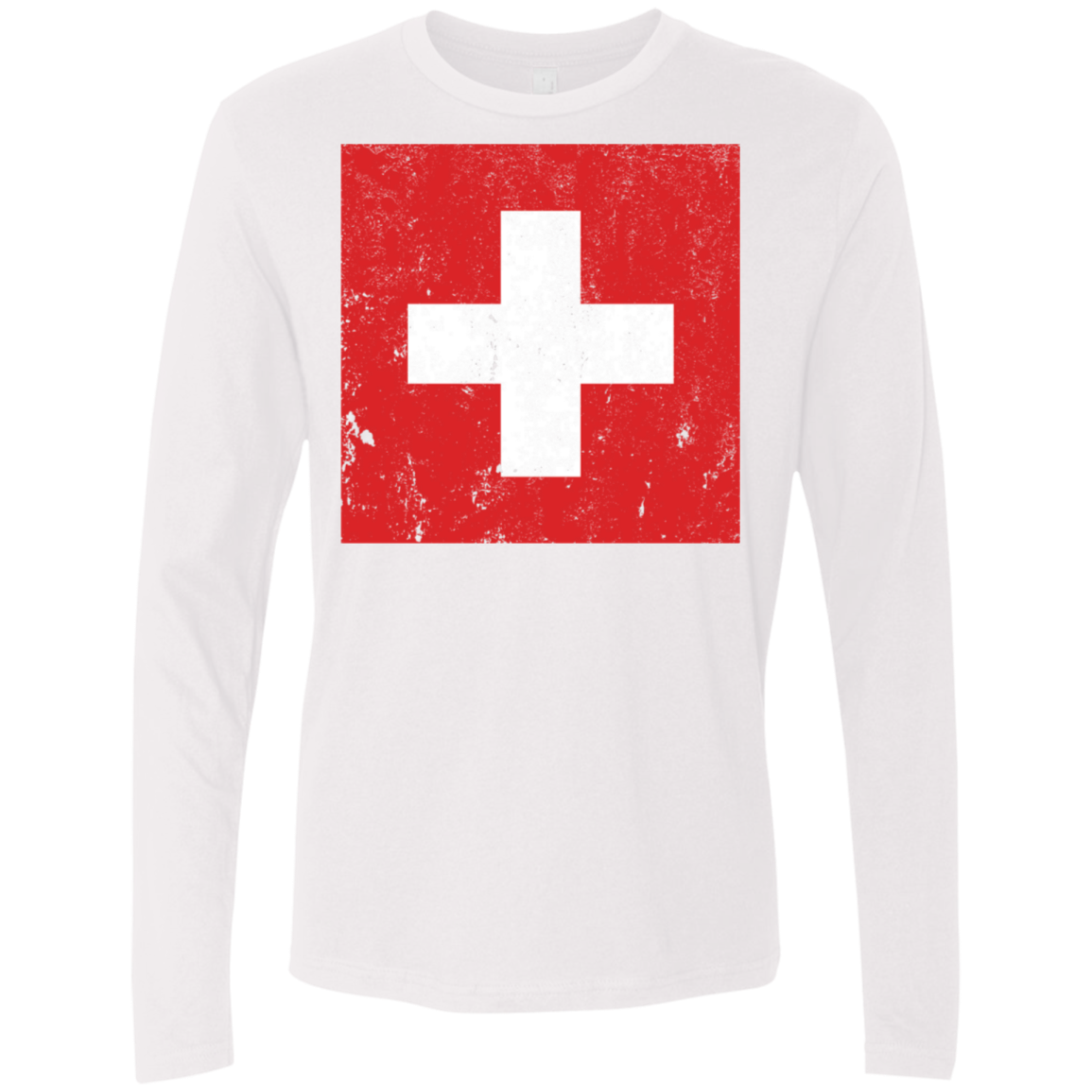 Switzerland Men's Long Sleeve Tee