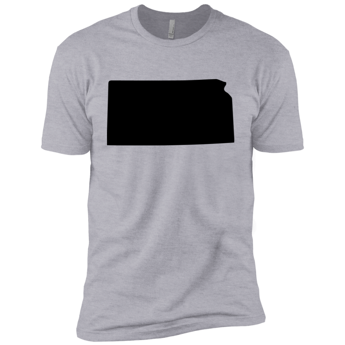 Kansas Black Men's Classic Tee
