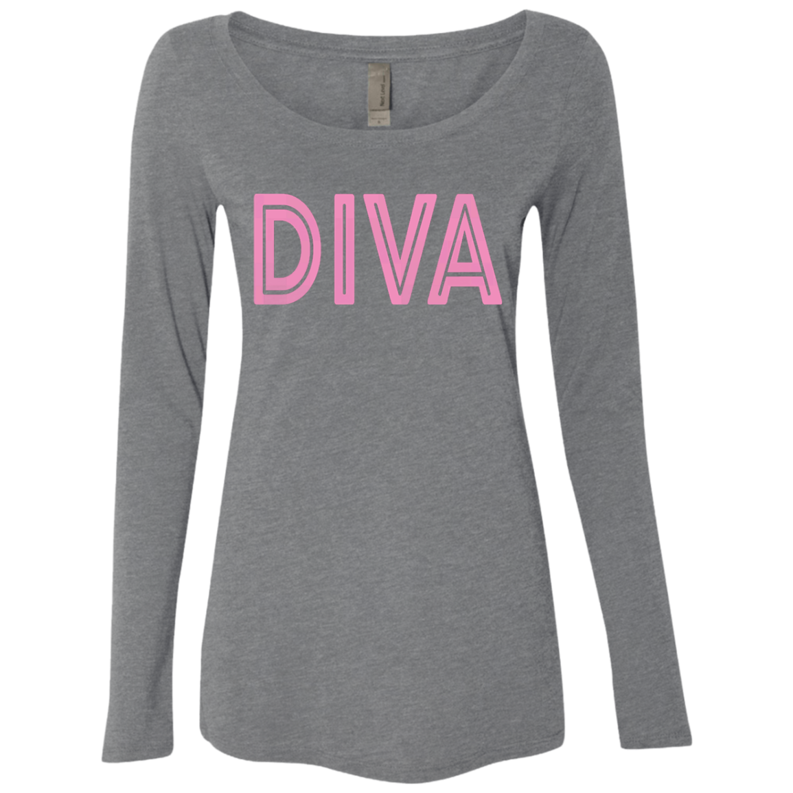 Diva Women's Long Sleeve Tee