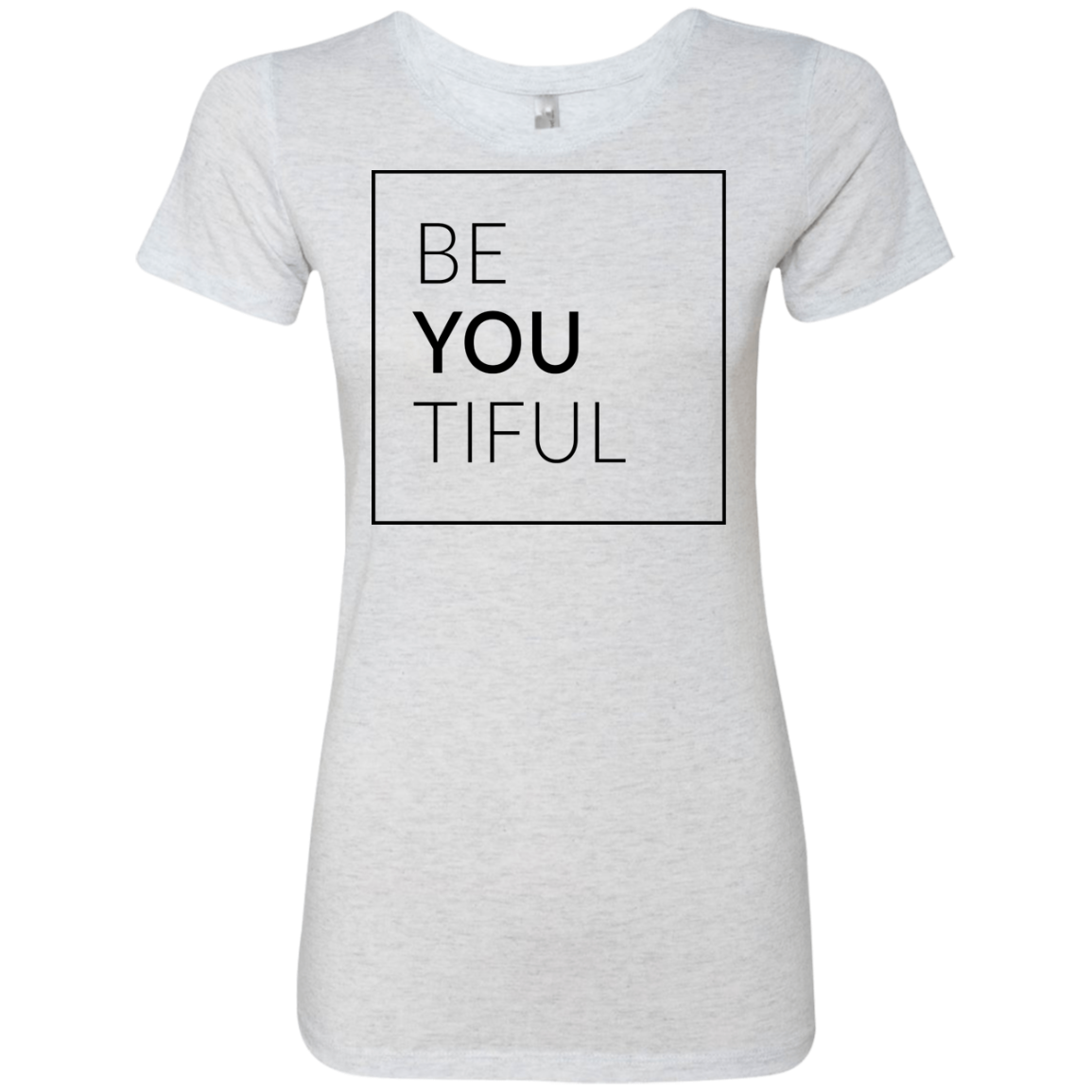 BeYOUtiful Women's Classic Tee - Trendy Tees
