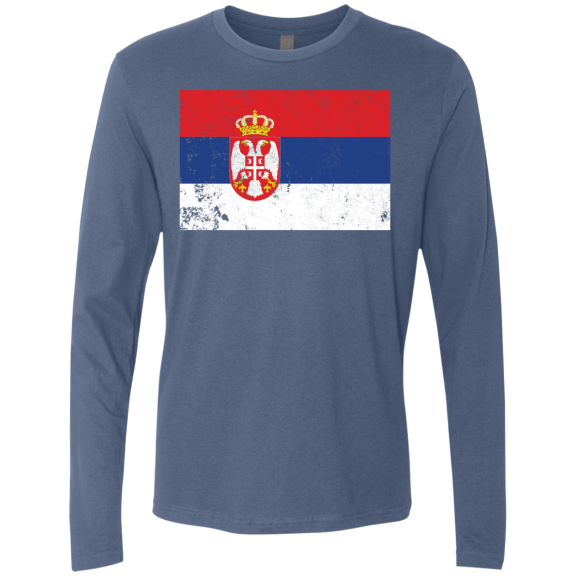 Serbia Men's Long Sleeve Tee