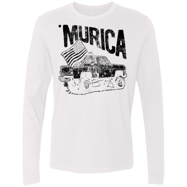 'Murica Men's Long Sleeve Tee