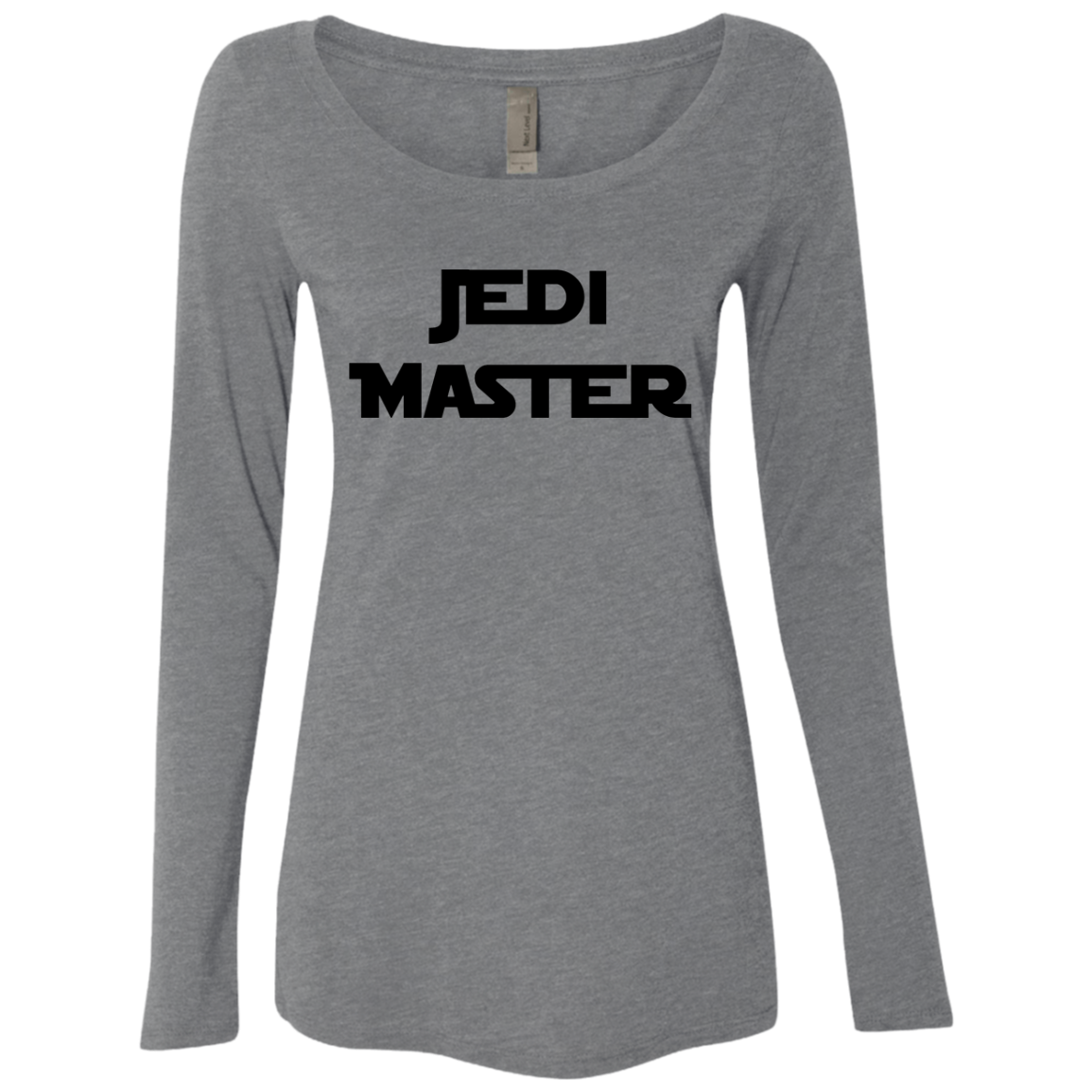Jedi Master Star Wars Women's Long Sleeve Tee - Trendy Tees