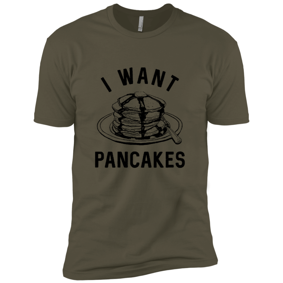 I Want Pancakes Men's Classic Tee