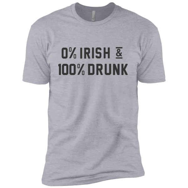 0'Irish 100'Drunk Men's Classic Tee