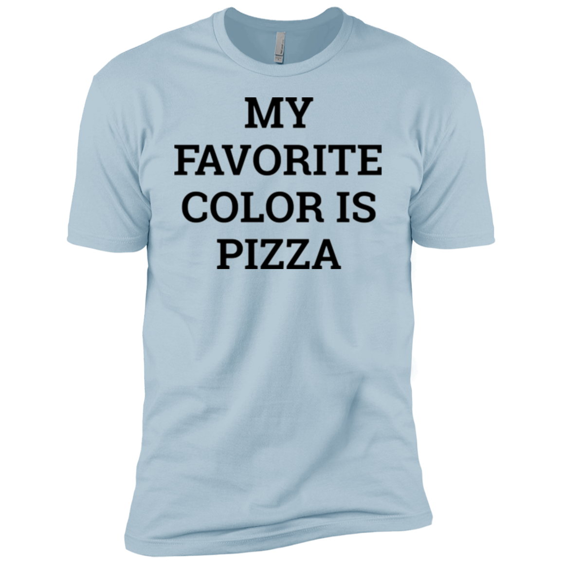 My Favorite Color is Pizza Men's Classic Tee