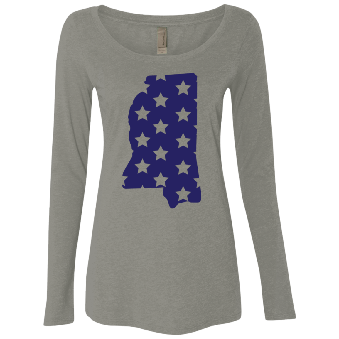Mississippi Stars Women's Long Sleeve Tee