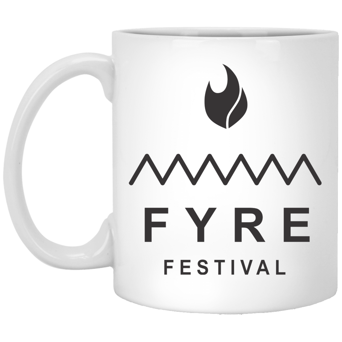 Fyre Festival Logo 11 oz. White Coffee Mug