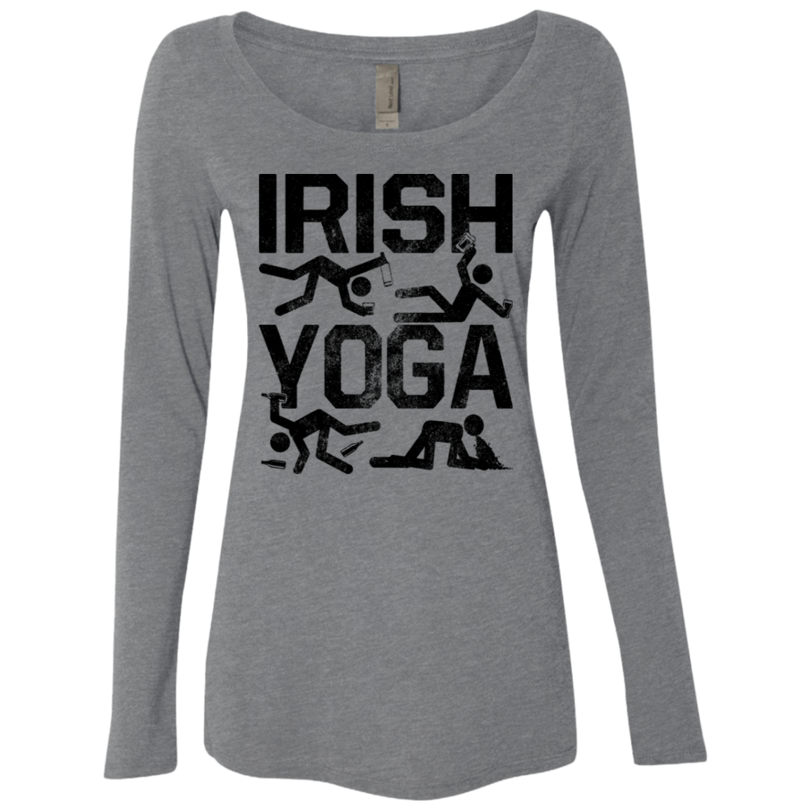Irish Yoga Women's Long Sleeve Tee