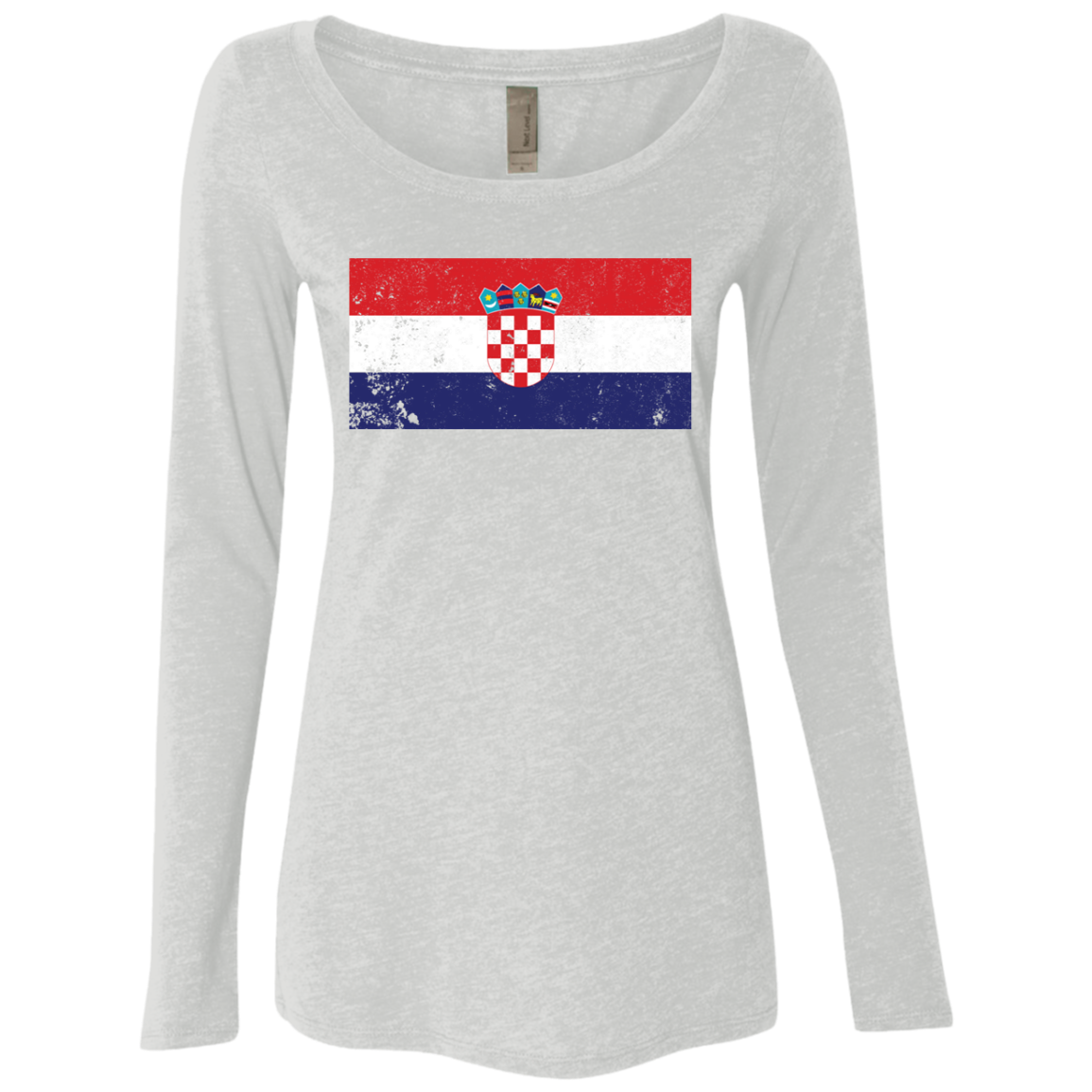 Croatia Women's Long Sleeve Tee