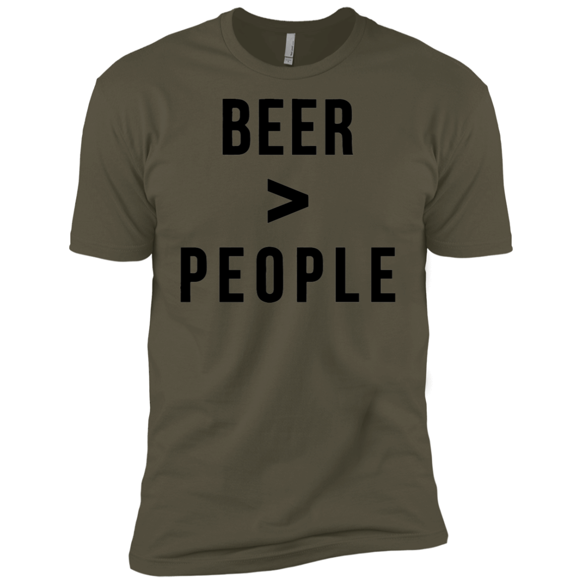 Beer Greater than People Men's Classic Tee - Trendy Tees