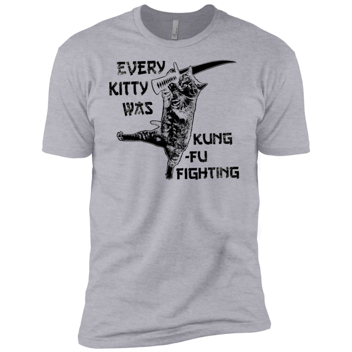 Every Kitty Was King Fu Fighting Men's Classic Tee
