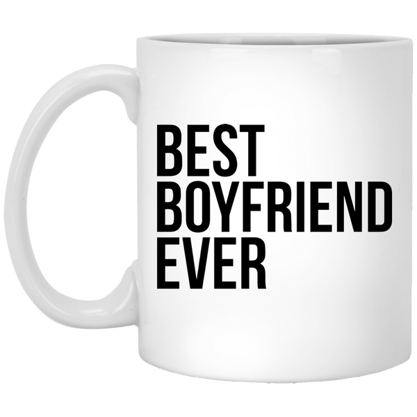 Best Boyfriend Ever 11 oz. White Coffee Mug - Trendy Tees