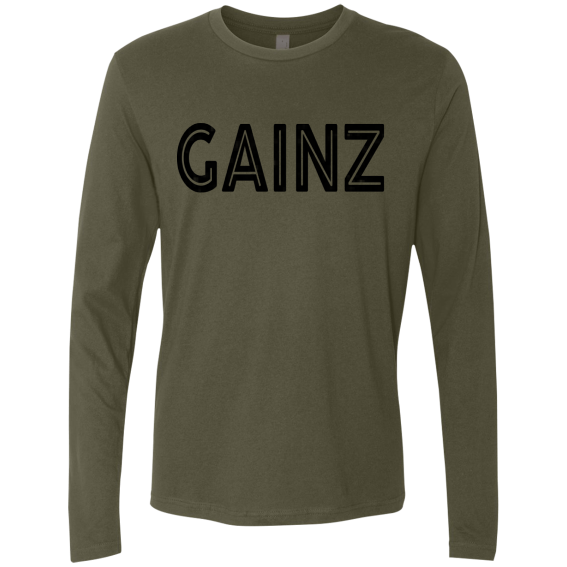 Gainz Men's Long Sleeve Tee
