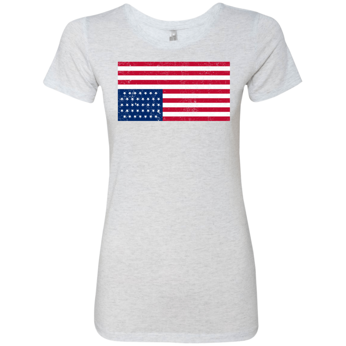 Inverted US Flag House of Cards Women's Classic Tee