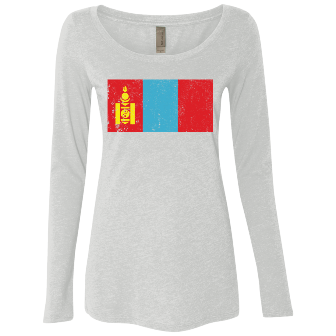 Mongolia Women's Long Sleeve Tee