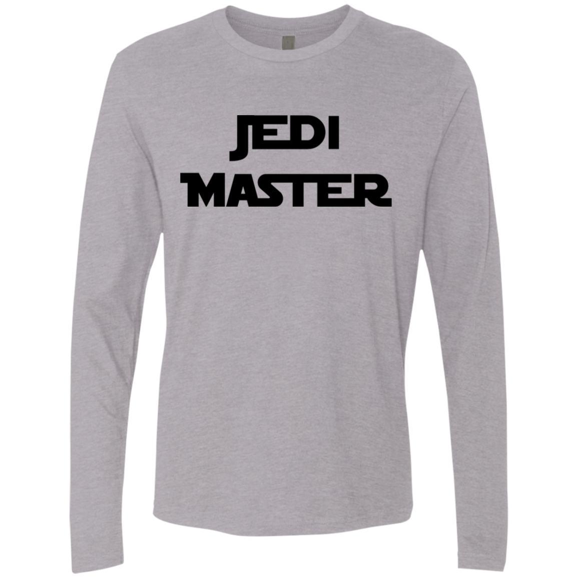 Jedi Master Star Wars Men's Long Sleeve Tee - Trendy Tees